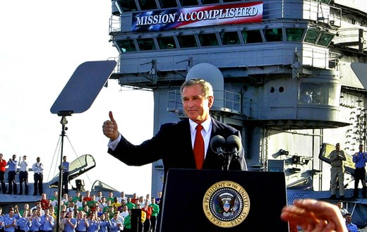 bush-mission-accomplished-iraq-thumbsup