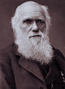 Charles Darwin photographed by Herbert Rose Barraud in 1881